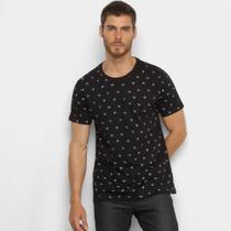 Camiseta Gajang Micro Estampa Masculina -