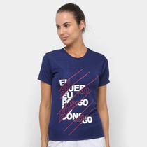 Camiseta Gonew Eu Quero Eu Posso Eu Consigo Feminina -