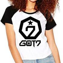 Camiseta Got7 Kpop Raglan Babylook - Eanime