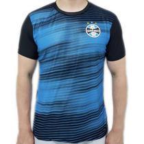 Camiseta Grêmio Dry Speed Masculina - Preta e Azul - Spr