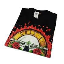 Camiseta Guns N Roses - Consulado do rock