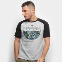 Camiseta HD Raglan Branch Masculina -