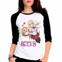 Camiseta Himouto Umaru-chan Raglan Babylook 3/4 - Eanime