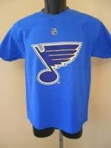 Camiseta Hockey NHL importada St Louis infantil 10 anos -