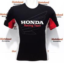 Camiseta Honda Moto GP Preta 260 -