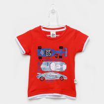Camiseta Infantil Andritex Carros Masculina -