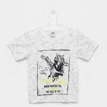 Camiseta Infantil Andritex Malha Jet Good Times Masculina -