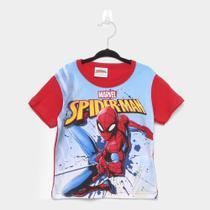 Camiseta Infantil Fakini Homem Aranha Masculina -