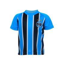 Camiseta Infantil Grêmio Menino Tricolor Manga Curta -
