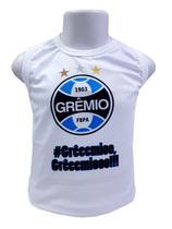 Camiseta Infantil Grêmio Regata Oficial - Revedor