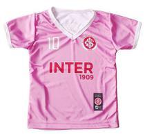 Camiseta Infantil Internacional Rosa Oficial - Bebê Brasileiro