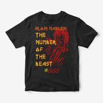 Camiseta Infantil - Iron Maiden The Number of the Beast - Snap way