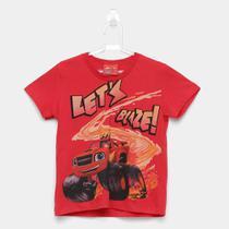 Camiseta Infantil Kamylus Estampada Masculina -
