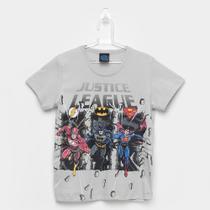 Camiseta Infantil Kamylus Liga da Justiça Masculina -