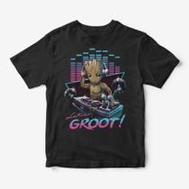 Camiseta Infantil - let's Groot - Rainer cintra