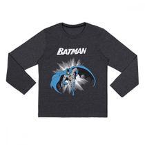 Camiseta Infantil Manga Longa Batman - Warner