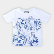 Camiseta Infantil Marvel Capitão América Masculina -