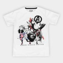 Camiseta Infantil Marvel Vingadores Masculina -