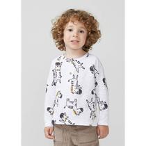 Camiseta Infantil Menino Manga Longa Com Estampa Toddler - hering