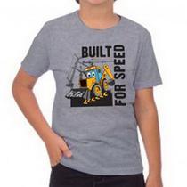 Camiseta Infantil Mescla Built for Speed JCB -