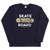 Camiseta Infantil Pulla Bulla Manga Longa Skate Masculina -