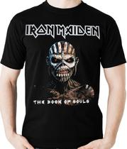 Camiseta Iron Maiden Book Of Souls Camisa (banda Rock) Blusa
