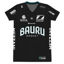 Camiseta Jogo Bauru Basket - NBB 2020-21 - Masculino - Muvin - BBK-2600 -