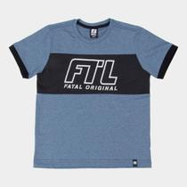 Camiseta Juvenil Fatal Original Masculina -