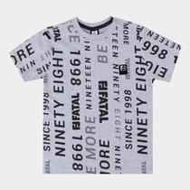 Camiseta Juvenil Fatal Original Ninety Eigth Masculina -