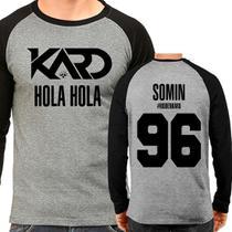 Camiseta Kard Hola Hola Somin 96 Raglan Mescla - EANIME
