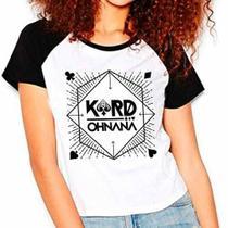 Camiseta Kard K.a.r.d Oh Nana Kpop Raglan Babylook - Eanime