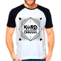 Camiseta Kard K.a.r.d Oh Nana Kpop Raglan Manga Curta - Eanime