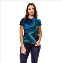Camiseta League of Legends Morgana Noiva Fantasma Baby Look GY - 429K