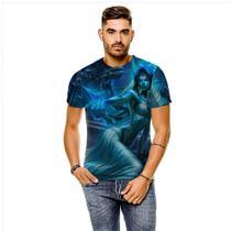 Camiseta League of Legends Morgana Noiva Fantasma Masculina GY - 429K