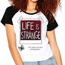 Camiseta Life Is Strange Raglan Babylook - Eanime