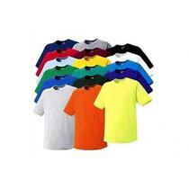 Camiseta Lisa Básica - Cores Sortidas - Tamanho GG - Magic