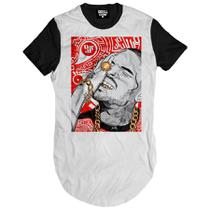 Camiseta Longline Chris Breezy Red - Skull clothing