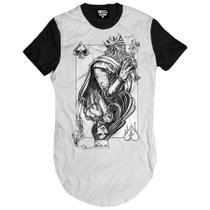 Camiseta Longline King and Queen - Skull clothing