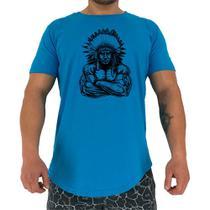 Camiseta Longline Manga Curta MXD Conceito Cacique Maromba -