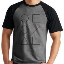 Camiseta Loona Kpop Raglan Mescla Curta - Eanime