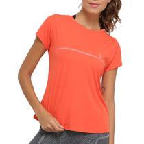 Camiseta Lupo Af Básica Feminina Laranja 77052-001 -