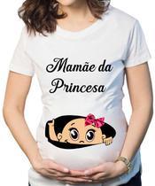 Camiseta Mãe de Princesa barriga - Dark Presentes