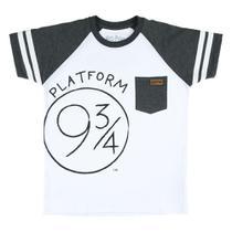 Camiseta Manga Curta - Algodão - Plataforma 9 3/4 - Branca - Harry Potter - Warner - 4 -