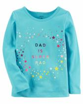 Camiseta Manga Longa Carters - Dad is Super Rad - Mod 273H118