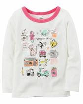 Camiseta Manga Longa Carters - My Favorite Things - Mod 273H238