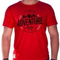 Camiseta masculina eco canyon enjoy every moment vermelho red - Eco Canyon Store