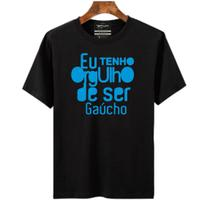Camiseta masculina Eu tenho orgulho de ser gaúcho - Portal Fitnes