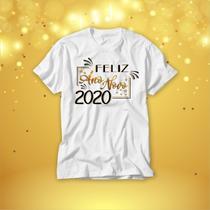 Camiseta masculina feminina feliz ano novo - Vidape