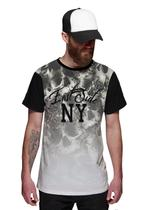Camiseta Masculina Flowers Caveira Floral East Side New York - Di nuevo