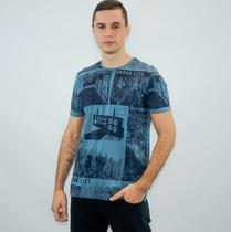 Camiseta masculina gola redonda downtown - Kohmar